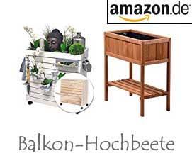Balkon-Hochbeete