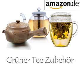 Grüner Tee Zubehör