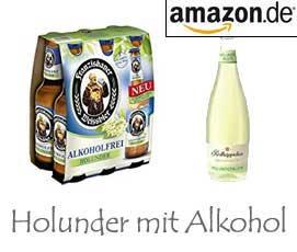 Holunder mit Alkohol