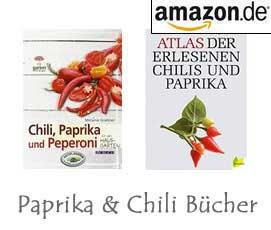 Paprika & Chili Bücher