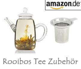 Rotbusch Tee Zubehör