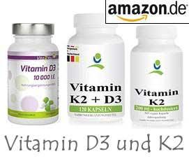 Vitamin D3 und Vitamin K2