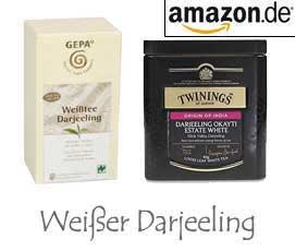 Weißer Darjeeling Tee