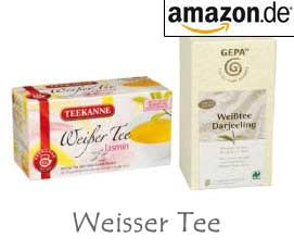 Weisser Tee